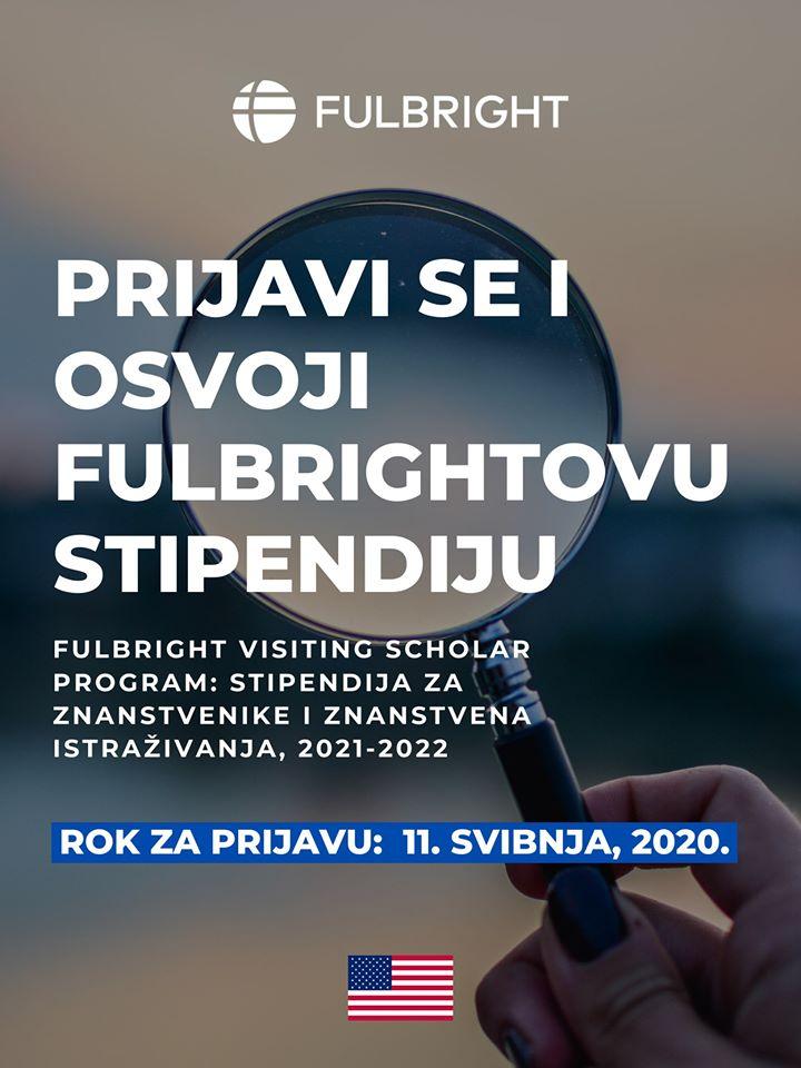 Natječaj za Fulbrightovu stipendiju