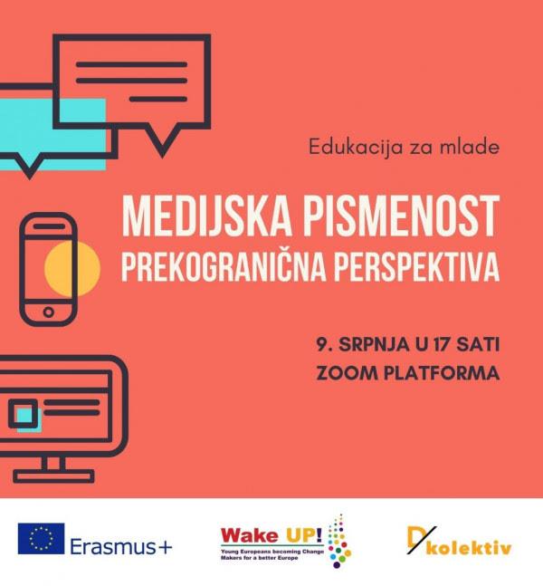 """Edukacija za mlade: """"Medijska pismenost – prekogranična perspektiva"""""""