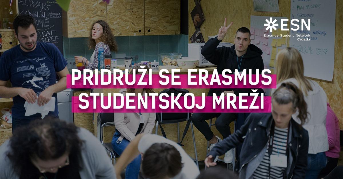 Pridruži se Erasmus studentskoj mreži