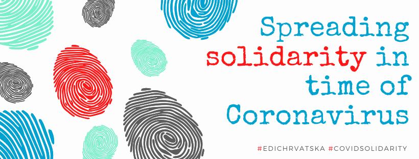 Solidarnost u doba koronavirusa - Pošalji svoj rad