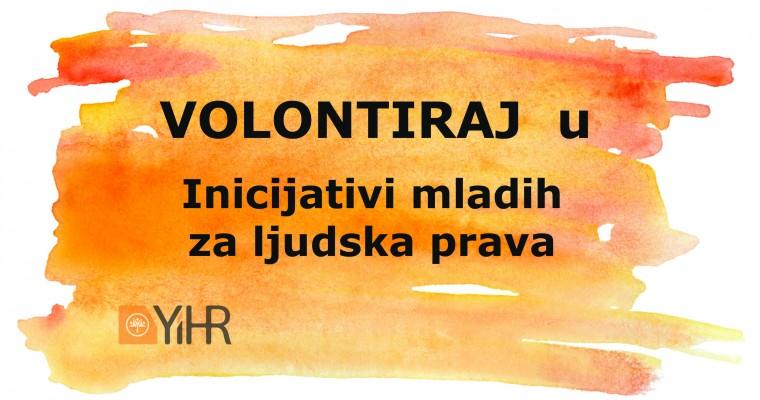 Inicijativa mladih za ljudska prava traži volontera/ku za Program pravde i Program pomirenja