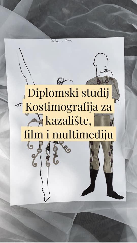 Jedini studij kostimografije u Hrvatskoj od jeseni u Osijeku