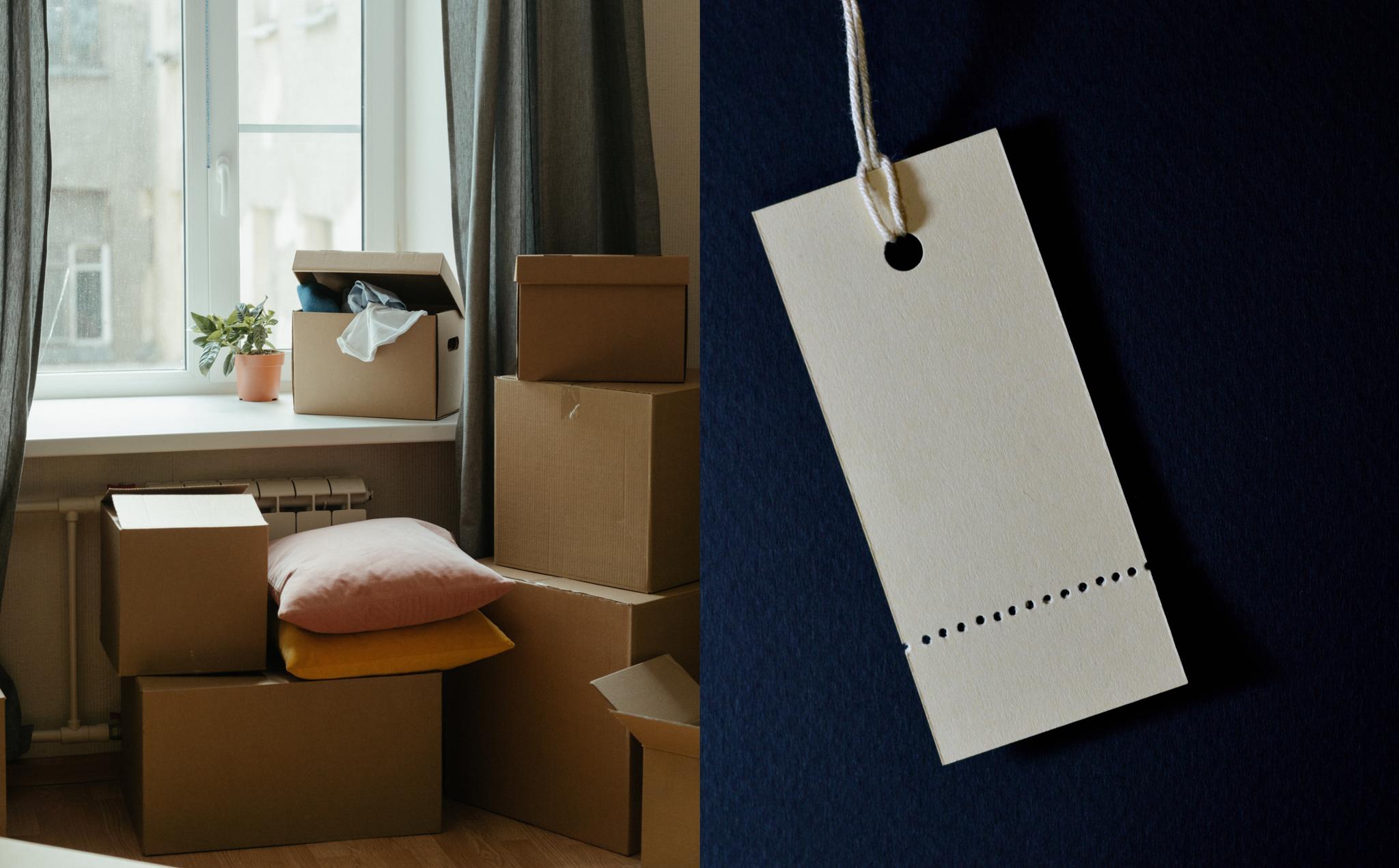 Kutije su za cipele, a etikete za odjeću
