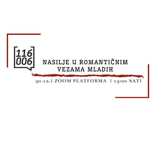 Predavanje: Nasilje u romantičnim vezama mladih