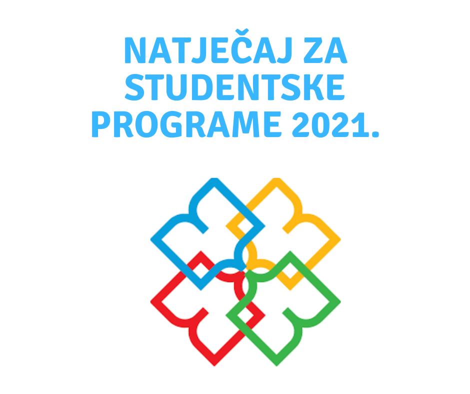 Natječaj za studentske programe