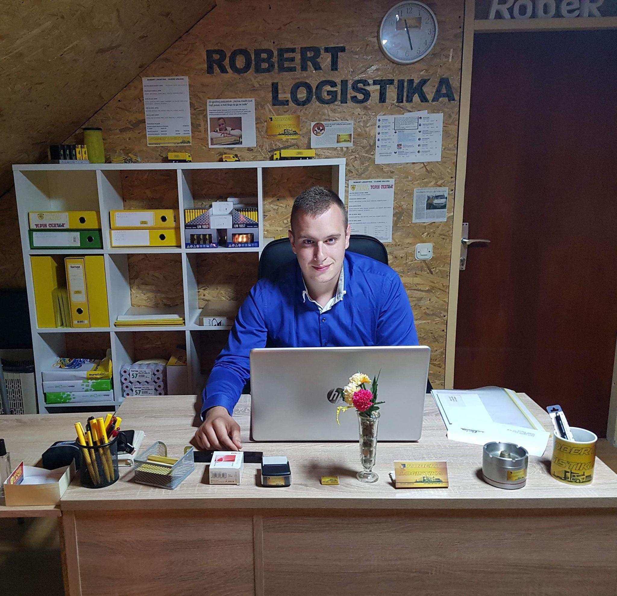 Upoznajte mladog poduzetnika Roberta Brkića