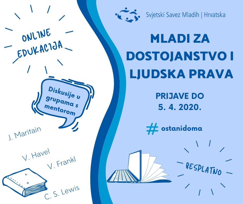 Online edukacija – Mladi za dostojanstvo i ljudska prava