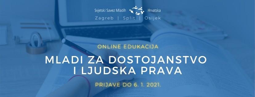Online edukacija: Mladi za dostojanstvo i ljudska prava