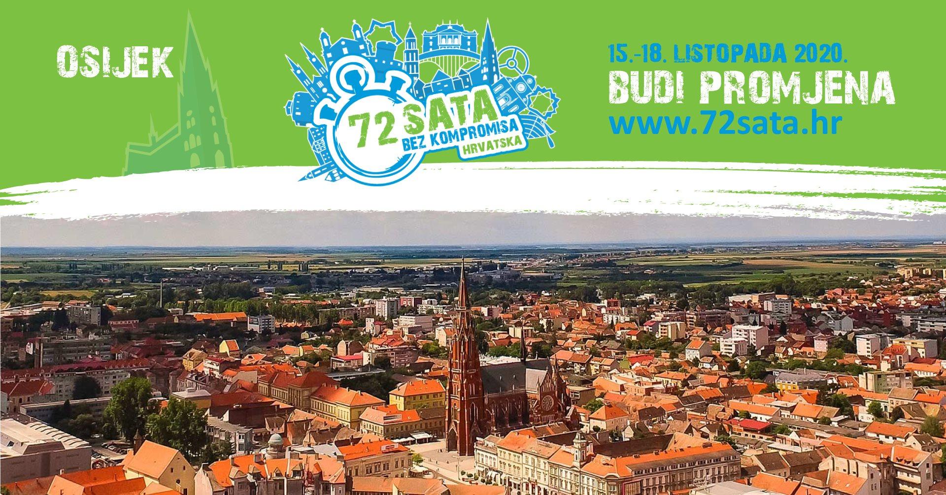 72 sata bez kompromisa - Osijek 2020.