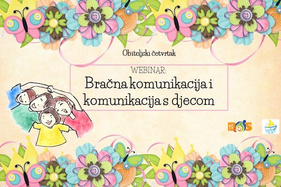Besplatni webinar: Bračna komunikacija i komunikacija s djecom