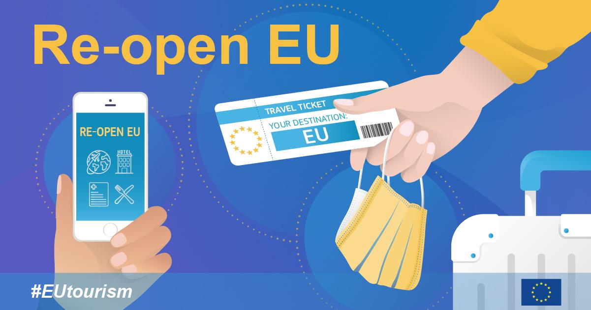 """""""Re-open EU"""" – najnovije informacije vezane za putovanja"""