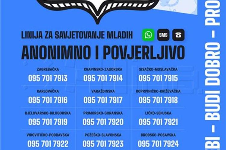Pokrenuta telefonska linija za podršku mladima u uvjetima pandemije