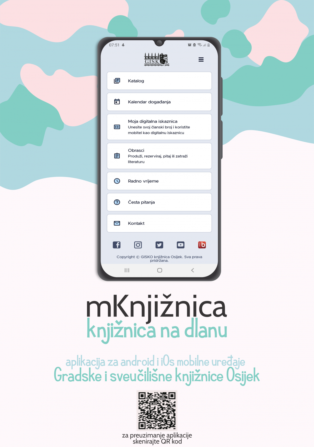 Mobilna aplikacija mKnjižnica