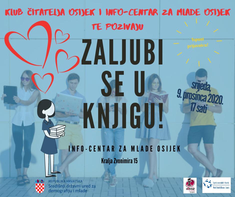 Zaljubi se u knjigu u Info-centru za mlade!
