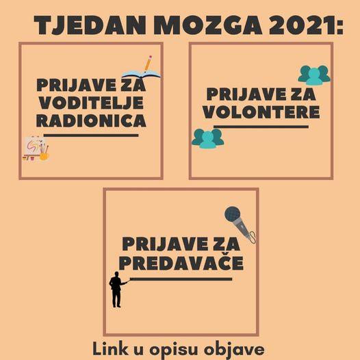 20. Tjedan mozga u Osijeku - Sudjelujte!