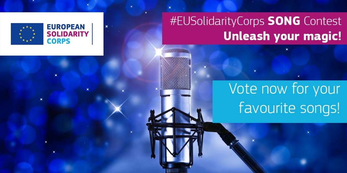 Glasajte za svoju omiljenu pjesmu Europskih snaga solidarnosti!