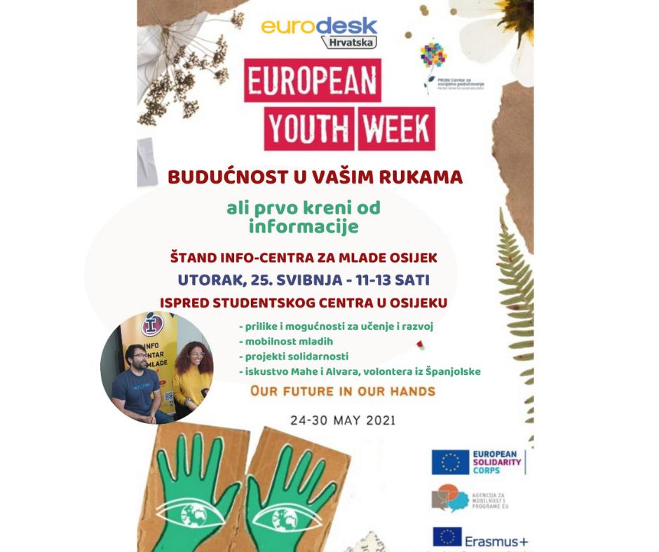 Kreni od informacije! - Štand Info-centra za mlade Osijek