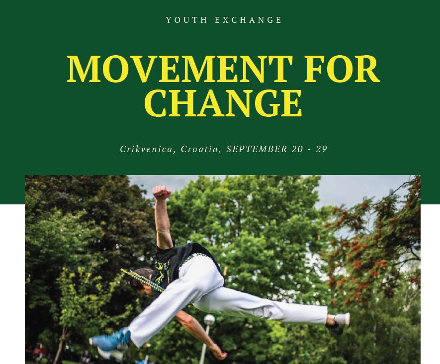 Razmjena mladih – Movement for change