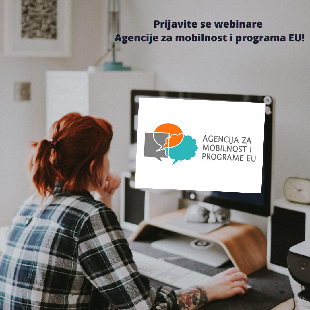 Niz webinara u sklopu nove generacije programa Erasmus+ i Europske snage solidarnosti