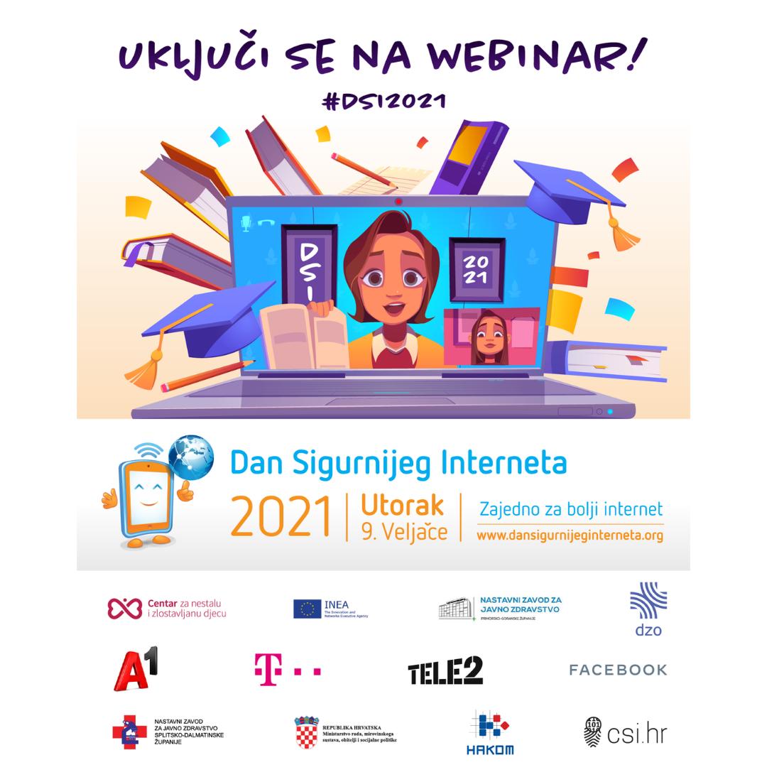 Dan Sigurnijeg Interneta - Prijavite se na webinar!