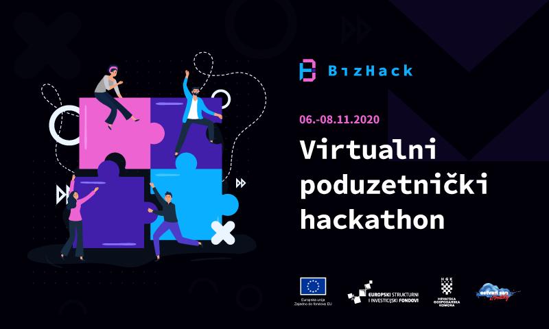 Dvodnevno online natjecanje BizHack Hackathon - osvojite 20.000 kuna!