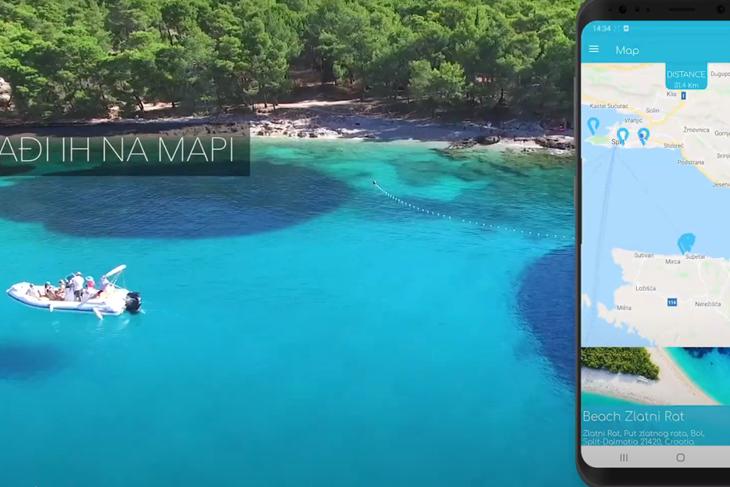 Besplatna mobilna aplikacija koja pronalazi najbližu plažu!