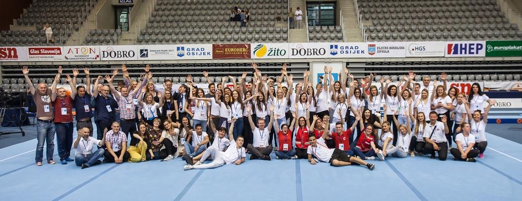 Volontiranje na Svjetskom kupu u Gimnastici