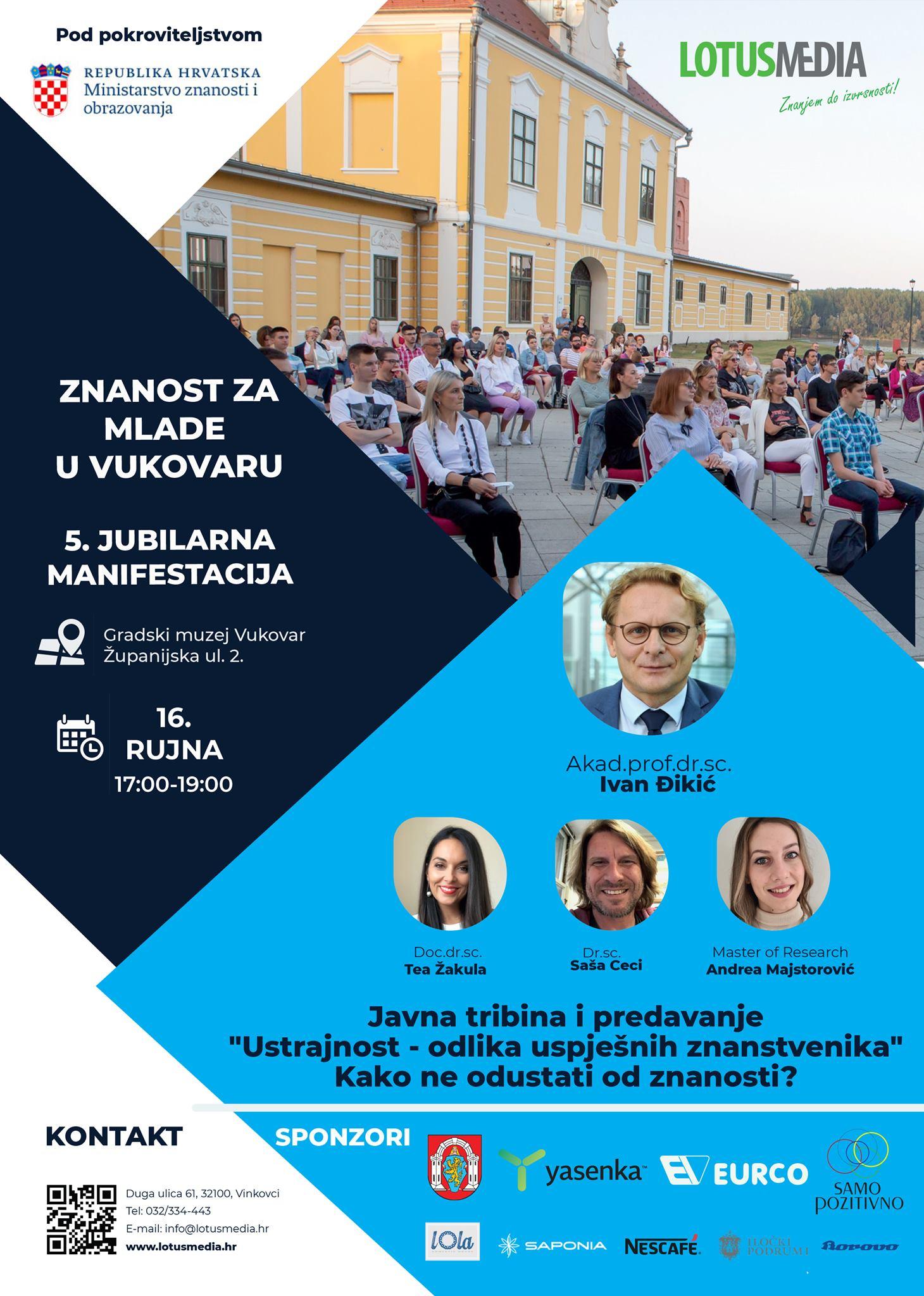 Znanost za mlade u Vukovaru